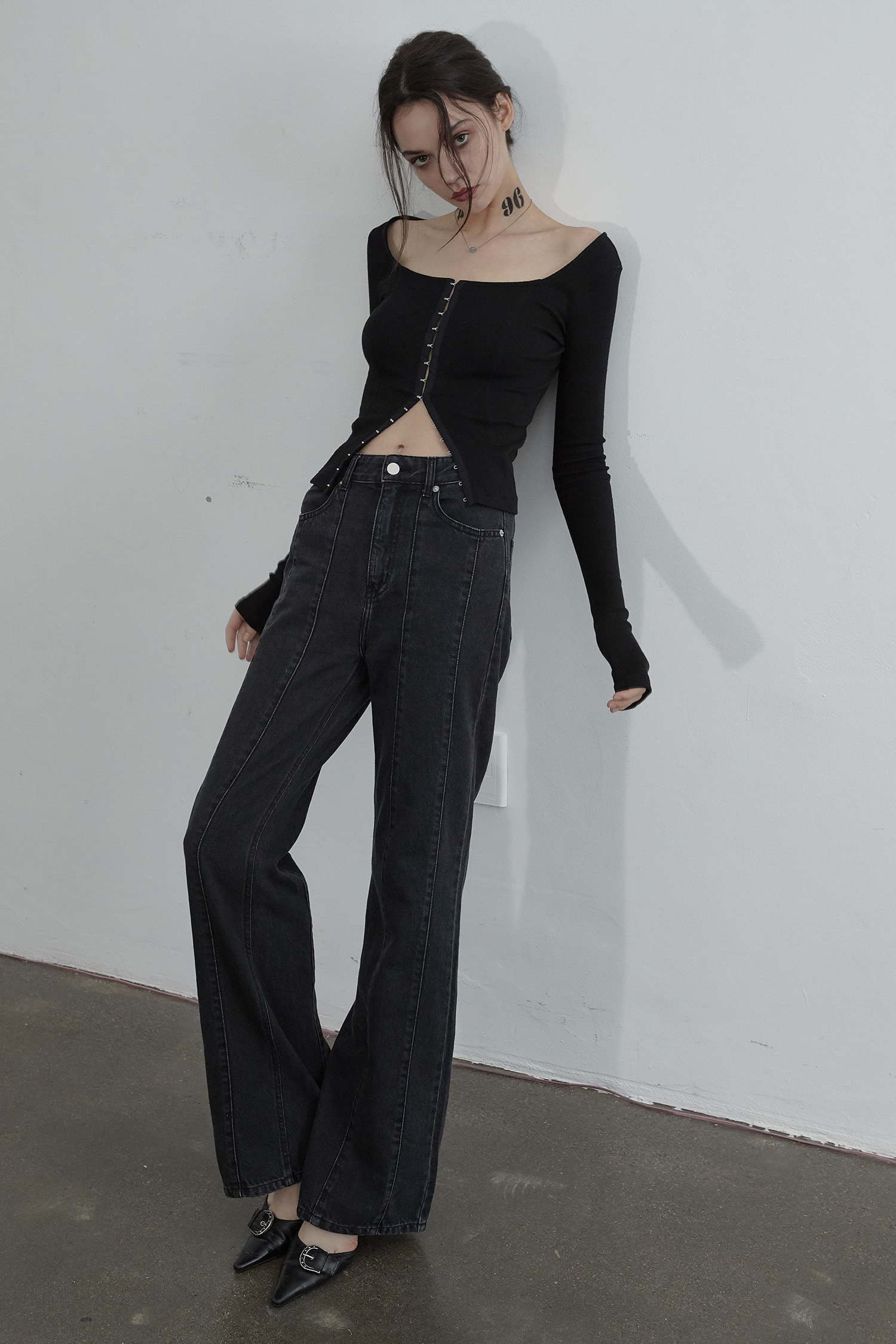 MARS DENIM PANTS_BLACK