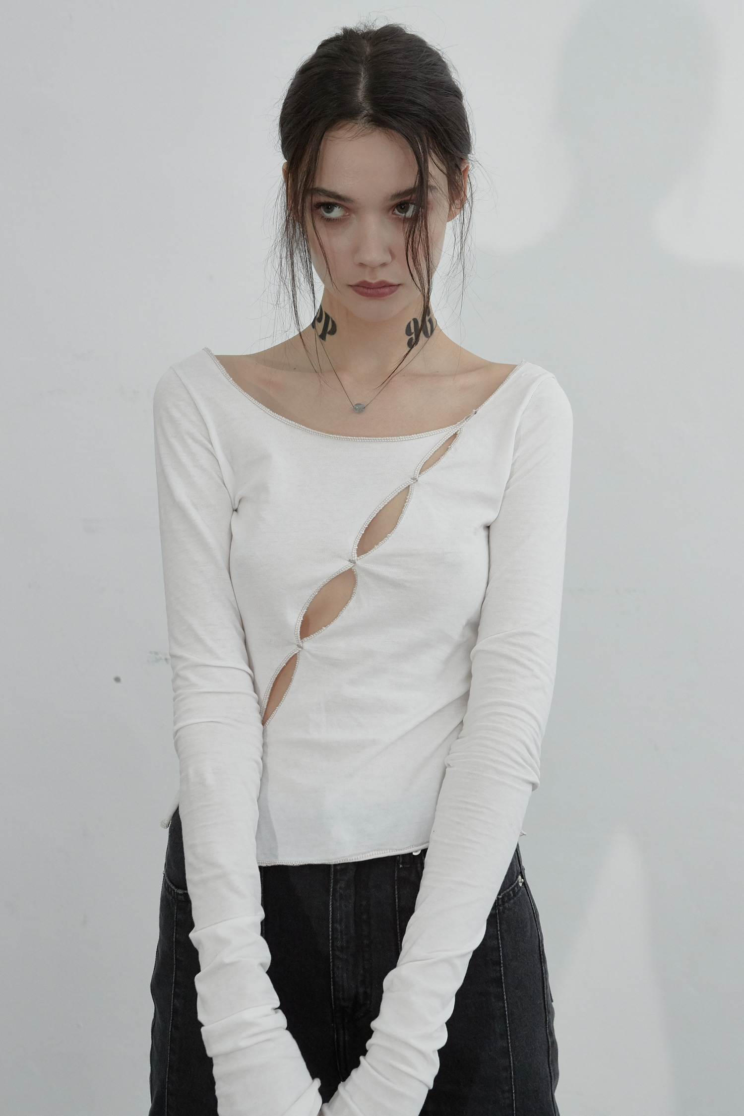 EFFY TOP_OFF WHITE