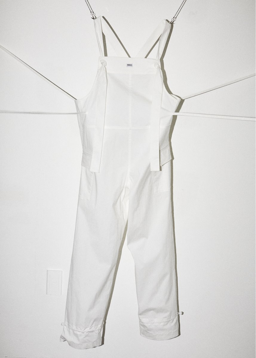 2-WAY JUMP SUIT white
