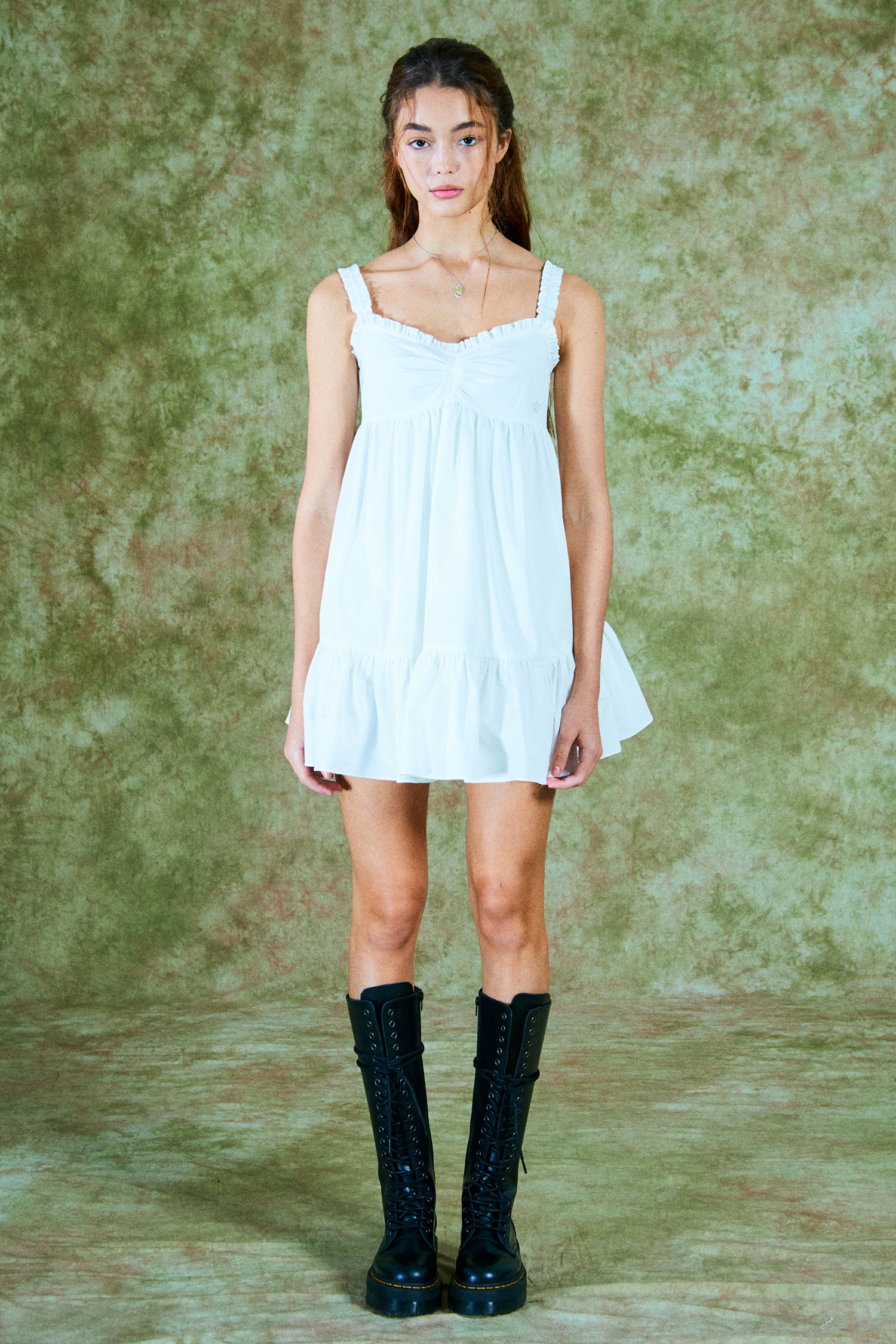 NANA DRESS_WHITE COTTON