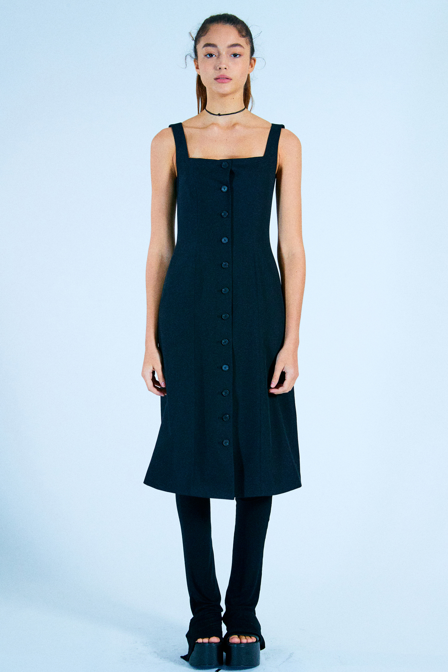 MARICA LONG DRESS_BLACK